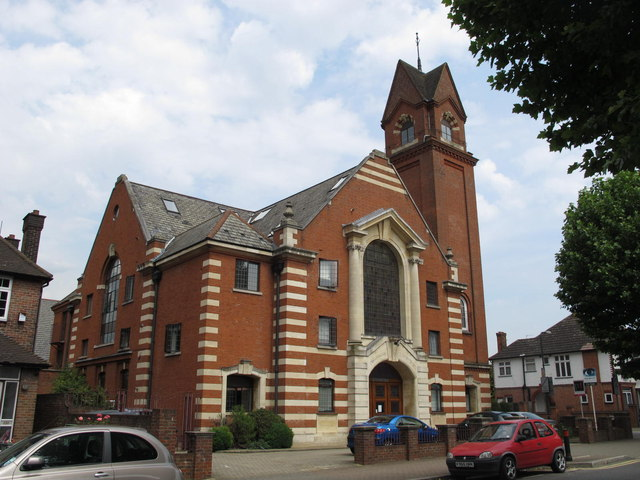 The former Cricklewood Baptist Church, Anson Road / Sneyd Road, NW2