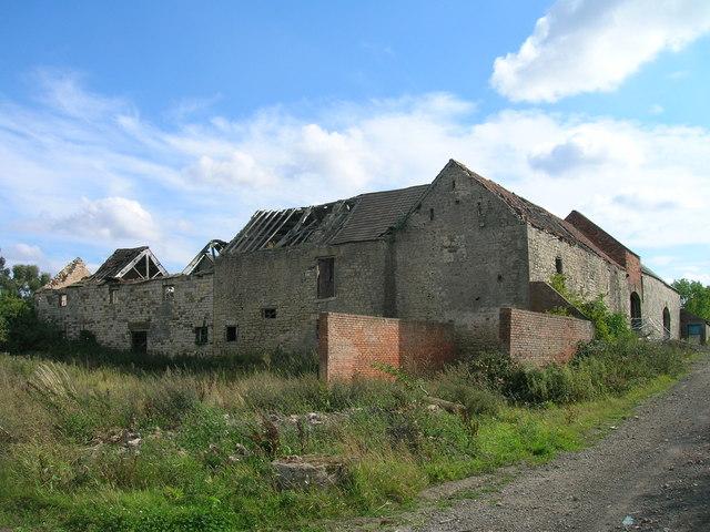 Farm buildings, Conisbrough Lodge