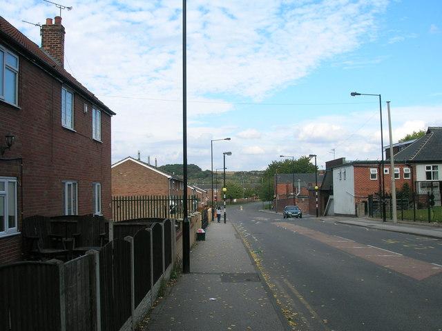 Wadworth Street heading east