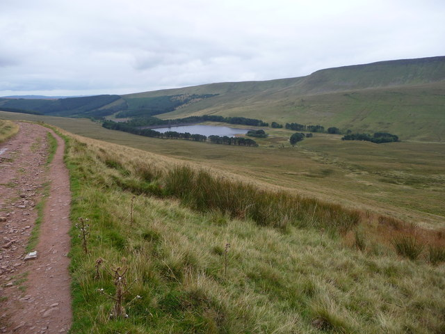 The Upper Neuadd Reservoir from the Gap Road