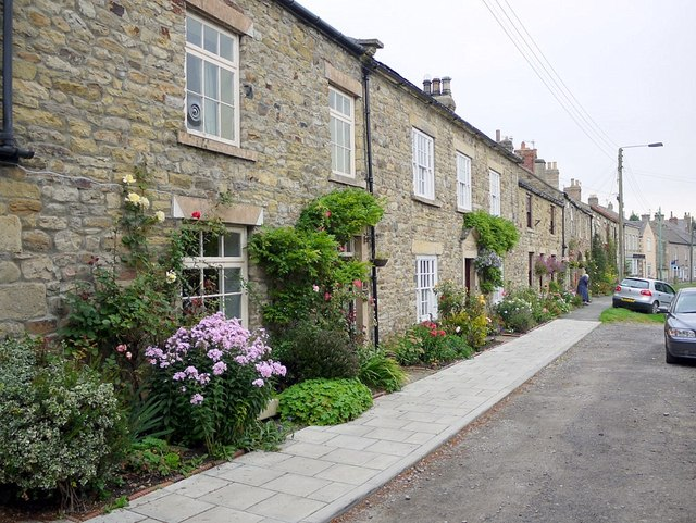 Terraced cottages, West End