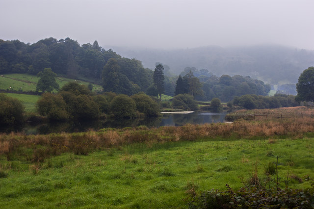 The River Brathay near Ashley Green