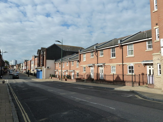 New houses in St Mary Street