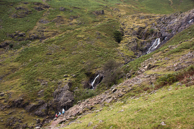 Waterfalls on Stickle Ghyll