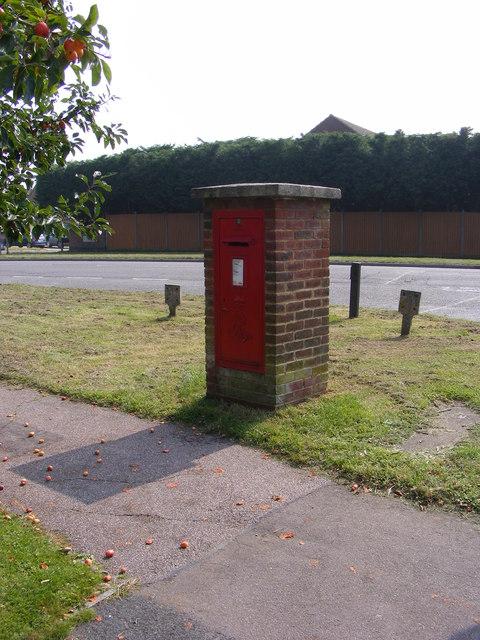 Halesworth Road Edward VII  Postbox