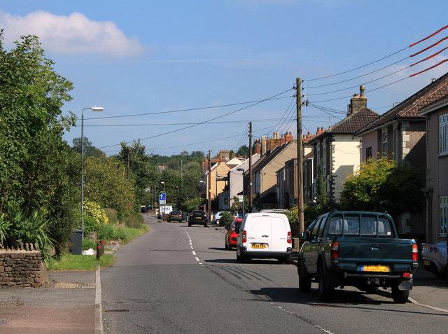 2011 : B4465 Main Road, Shortwood