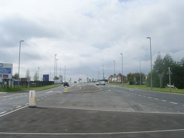 Gelderd Road - viewed from Street Lane