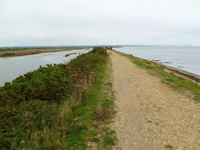 Pennington Marshes, coastal scenery