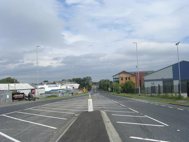 Gelderd Road - viewed from Street Lane