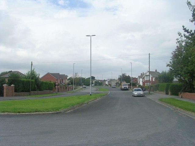 Bradford Road - viewed from near Gildersome Cross Roads
