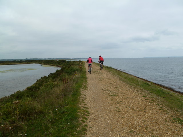 Pennington Marshes, Solent Way