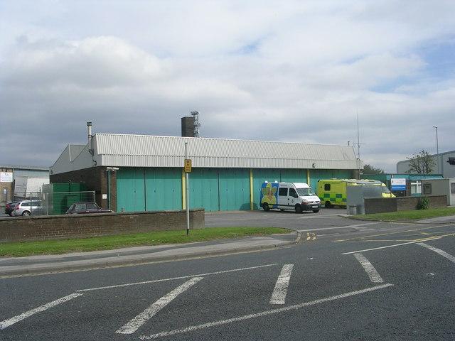Gildersome Ambulance Station - Wakefield Road