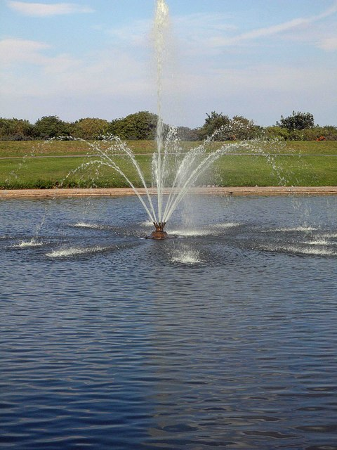 Fountain in the Lake, Cleethorpes