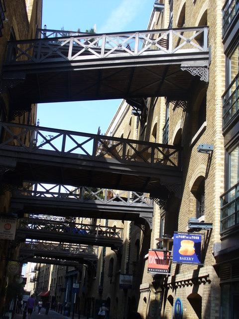 Footbridges, Shad Thames