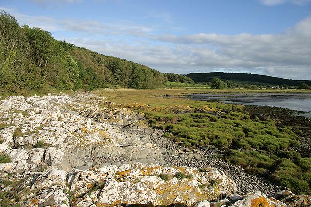 The shoreline at Manxman's Lake
