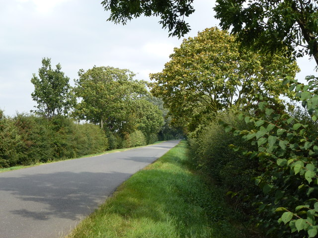 English Drove east of Thorney Golf Centre