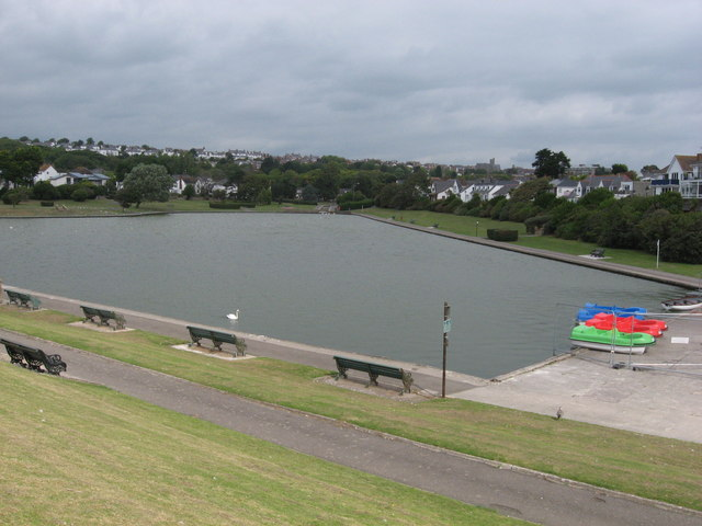 Boating Lake, The Knap, Barry