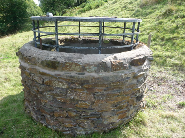 Mineshaft cover at Lordshill