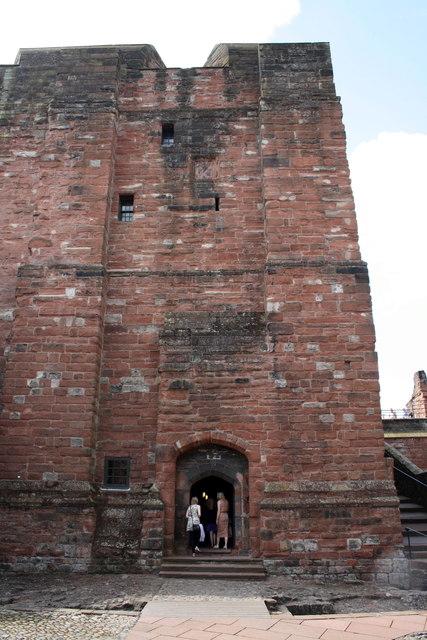 The inner keep, Carlisle Castle