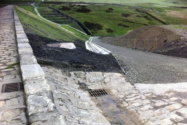 Widdop Reservoir dam