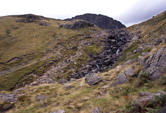 The top of Stickle Ghyll