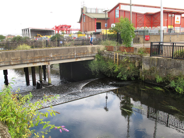 Tidal limit of the Wandle