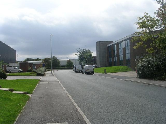 Gildersome Spur - looking towards Wakefield Road