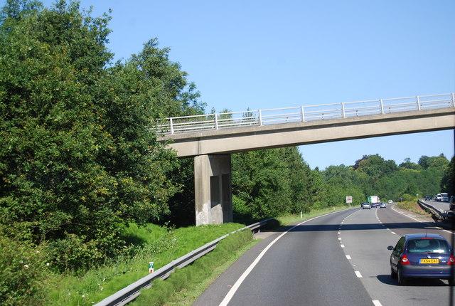 Hubbards Hill Bridge, A21