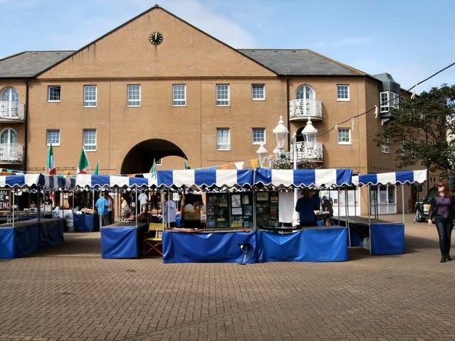 Italian Market at Brighton Marina
