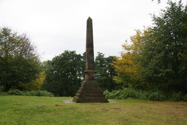 Obelisk at Dunham Massey