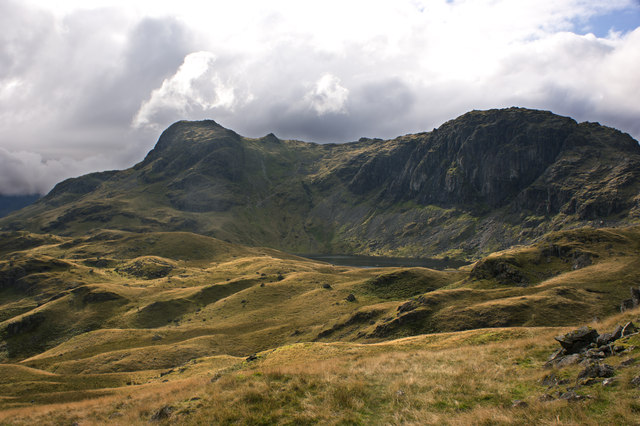 The view back to Stickle Tarn