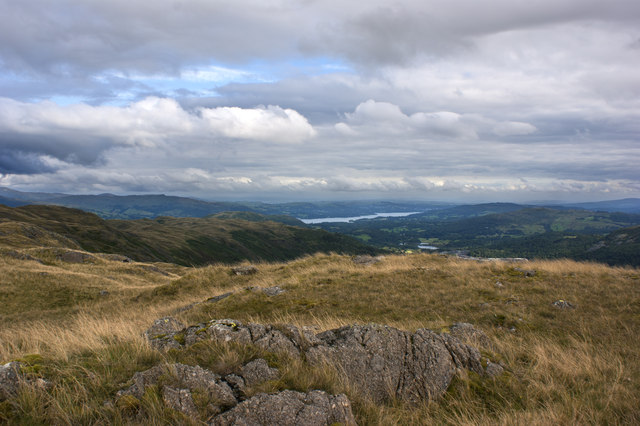The view towards Lake Windermere