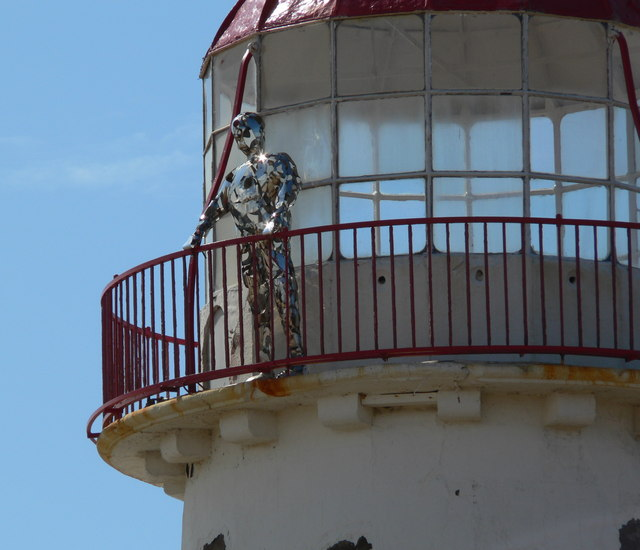 'Keeper' at the Point of Ayr Lighthouse