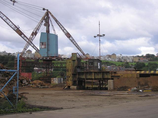Scrapyard on Cruickness Road