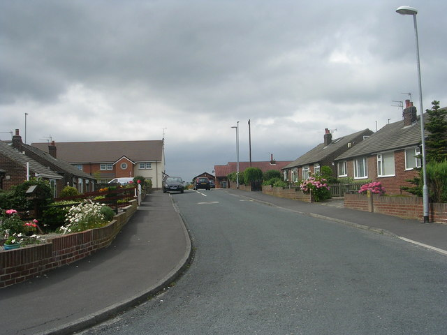 Briarfield Gardens - looking towards Street Lane