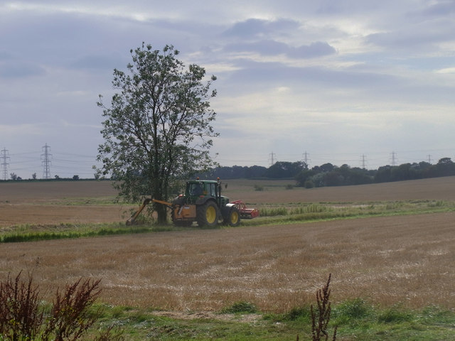 Ditching near West Halton