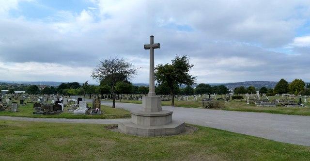 War memorial in Tinsley Park Cemetery