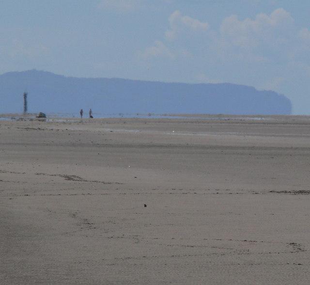 View west across Talacre Beach