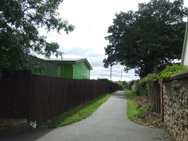 Footpath, Houghton-le-Spring