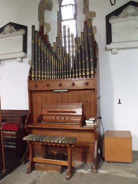 Organ in St Helena's Church, South Scarle