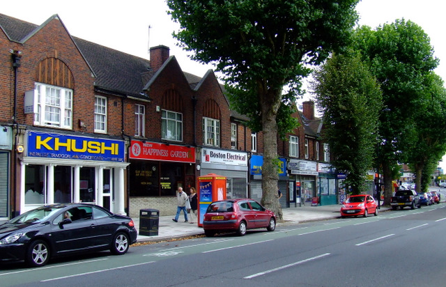 Shops on Boston Road