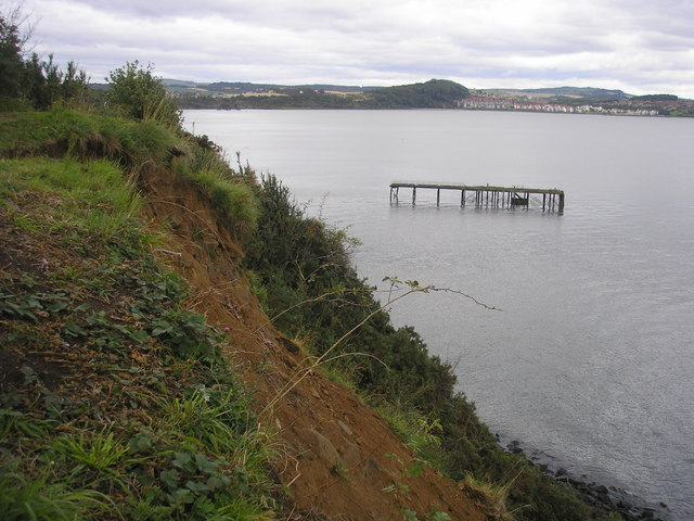 Erosion at Carlingnose Point