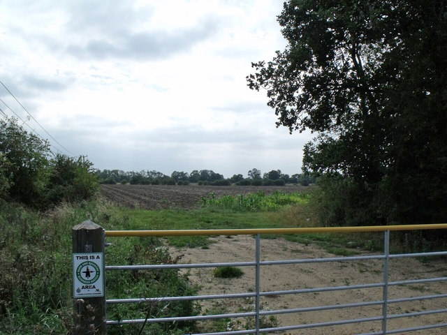 Field and Gate at Potter Hill Spinneys
