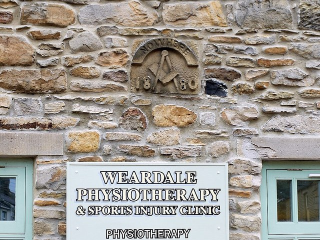 'Nowhere' plaque on former Blacksmith's Shop, Front Street