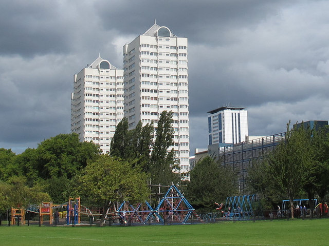 Playground in King George's Park