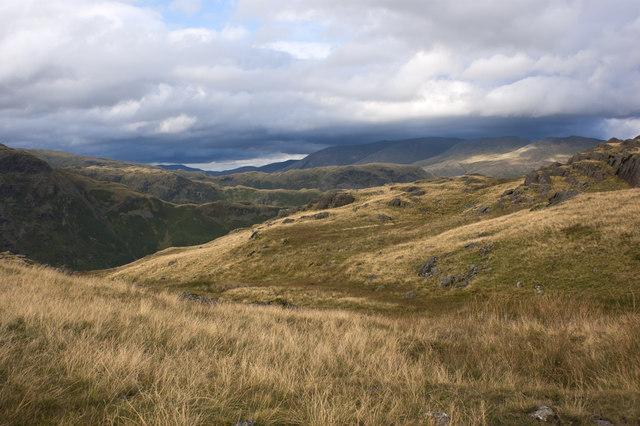 Ridge after ridge after ridge...