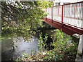 TQ2573 : Footbridge over the Wandle by Stephen Craven