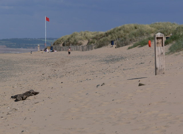 Talacre Beach and dunes