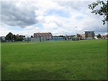 TQ2573 : Southfields Community College by Stephen Craven