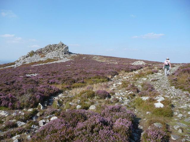 Manstone Rock on the Stiperstones